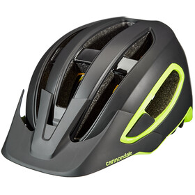 Cannondale Hunter MIPS Casco, black/volt
